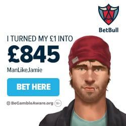 BetBull UK Sportsbook Mobile (iOS/Android) - £20 free bet bonus
