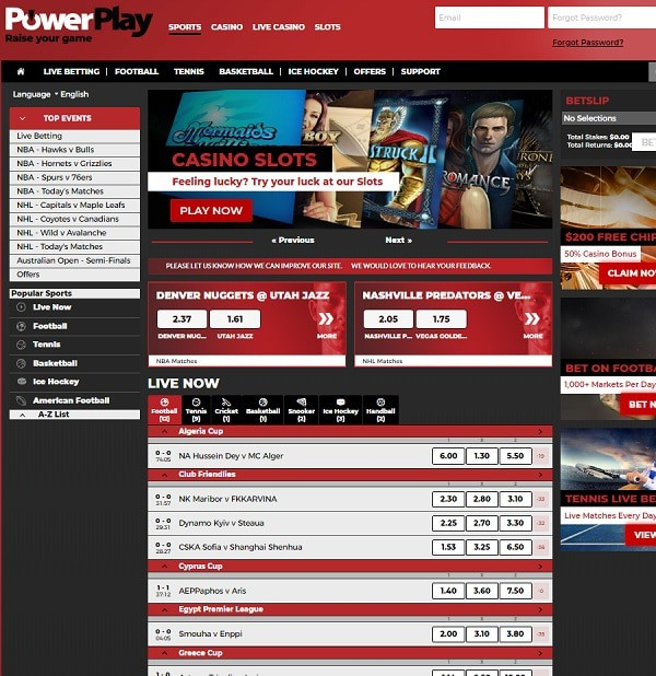 PowerPlay Casino Review