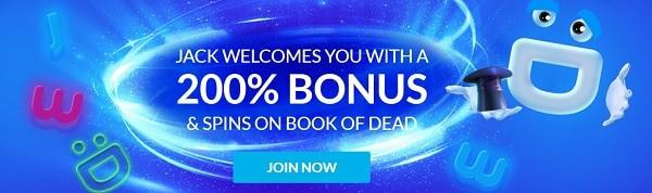 Wild Jackpots Casino 200% welcome bonus and 30 free spins on 1st deposit