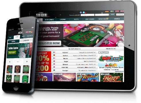 Casino Sieger online and mobile