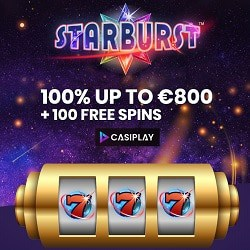 Casiplay Casino welcome bonus: $/£/€800 + 100 free spins