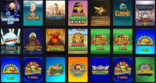 PlayGrand Casino games and software