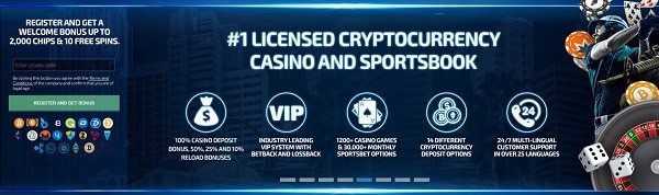 Playbetr Cryptocurrency Casino