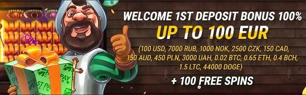 Fastpay welcome bonus