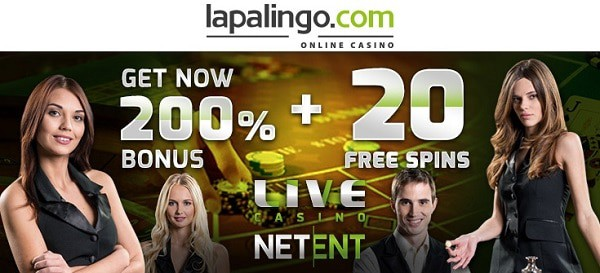 Get 20 free spins and 200% welcome bonus