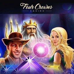 Four Crowns Casino £6,000 exclusive promotion (free bonus codes)