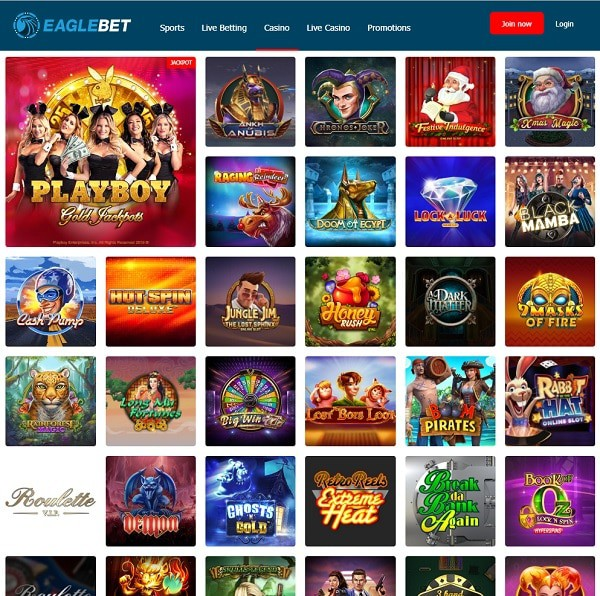 Eagle Bet Online Games Review