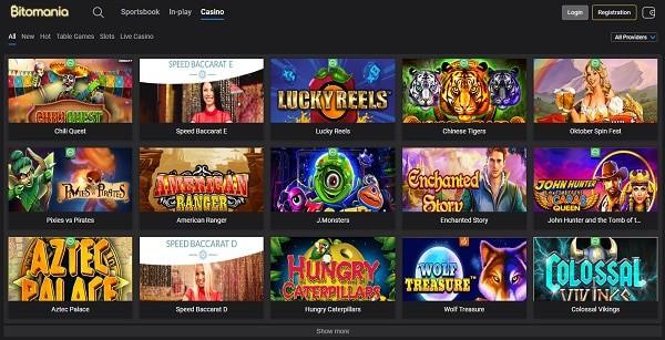 Crypto Casino Games (Bitcoin)