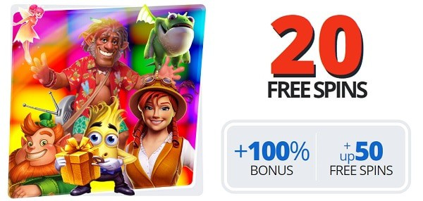 20 free spins no deposit required (exclusive)