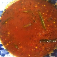 Kamsila's Chilli Sauce with apricot jam, garlic and mustard seeds