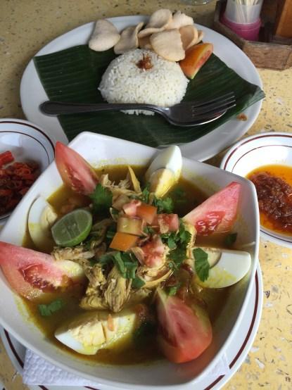 Soto Ayam - Balinese chicken soup at Made's Warung, Penestanan