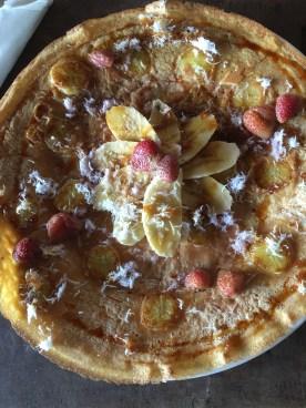 Breakfast pancake at Yellow Flower Cafe in Ubud