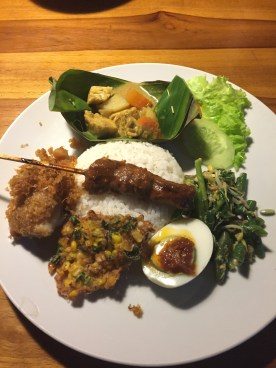 Nasi Campur at BuBus Warung in Penestanan, Ubud