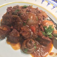 Beef Bourguignon with Star Anise and Cloves