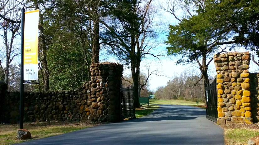 Reynolda House Entrance Gate