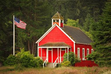 one-room schoolhouse (c) Trudywsimmons | Dreamstime.com