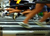 Treadmill feet public domain