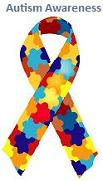 The Autism Awareness Puzzle Ribbon