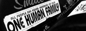 onehumanfamilysticker-courtesy Cool Key West