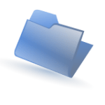 160px-Folder-blue.svg wikimedia commons