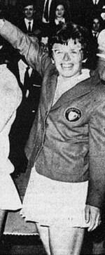 Billie Jean King 1966 Italy wikimedia commons Italian Public Domain open license