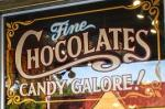 Chocolate Shop Signage