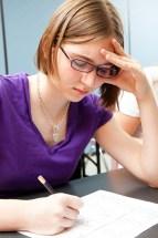 (c) Girl writing (c) Lisafx | Dreamstime.com