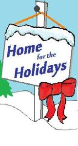 Home for Holidays (c) M Wilbourn fir Free Spirit Publishing