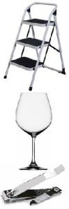 stool wine glass toenail ckipper