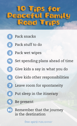 10 Tips for Peaceful Family Road Trips