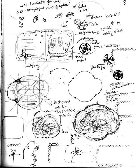Melissa Iwai's Early Concept Sketches