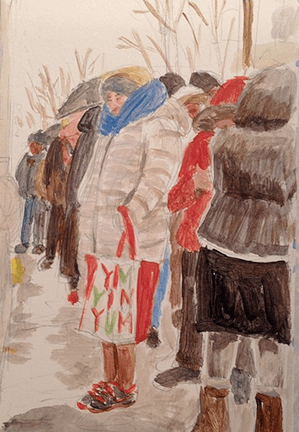 Winter (Acrylic)