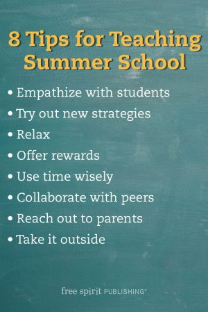 Tips for Summer School List