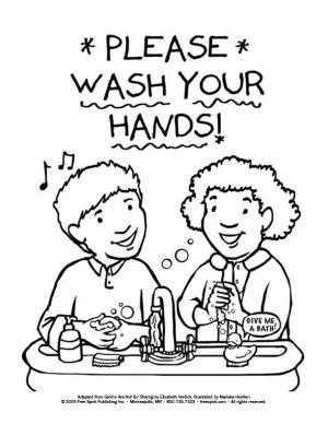 This Is the Way We Wash Our Hands . . .