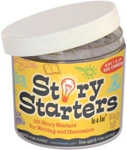 Story Starters In a Jar