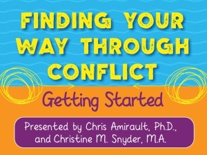 Finding Your Way Through Conflict Webinar
