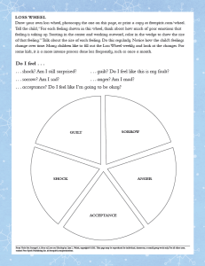 The Loss Wheel from Violet the Snowgirl