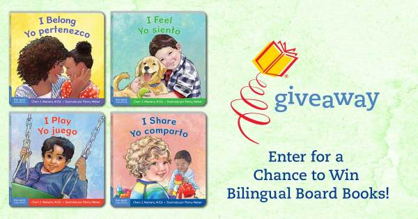 Enter to Win English-Spanish Bilingual Books from the Learning About Me & You Series