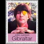 John Lennon on stamps