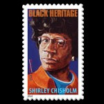 "New ""Black Heritage"" issue USA – Shirley Chisolm"