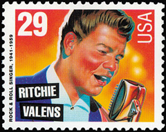 Richie Valens stamp USA