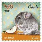 New postage stamps Croatia from the series Children's World – Pets