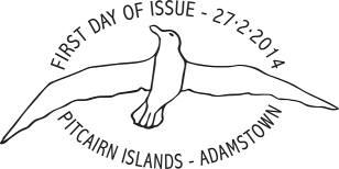 Pitcairn Albatross Datestamp
