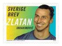 zlatan ibrahimovic stamp Sweden