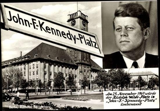 John F.Kennedy Platz Berlin