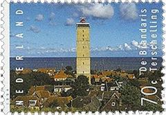 Brandaris-stamp