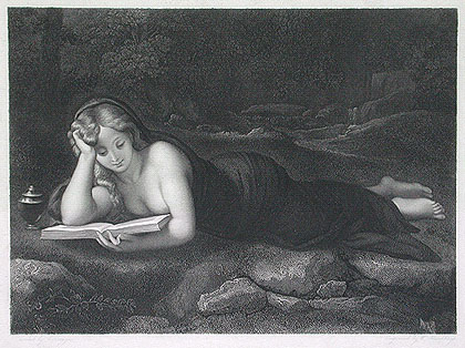 The Reading Magdalene by William Humphrys