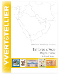 Yvert Catalogue Asia Middle East 2015
