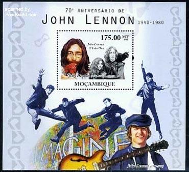 Stampblock John Lennon