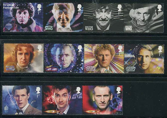 stamps-Dr-Who